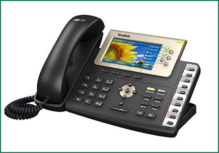 SIP-T38G IP טלפון
