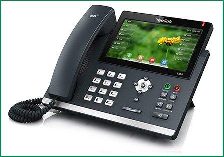 SIP-T48G IP טלפון
