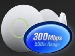 UniFi פנימי כולל תוכנת ניהול AP- n בתקן Wi-Fi Access Point